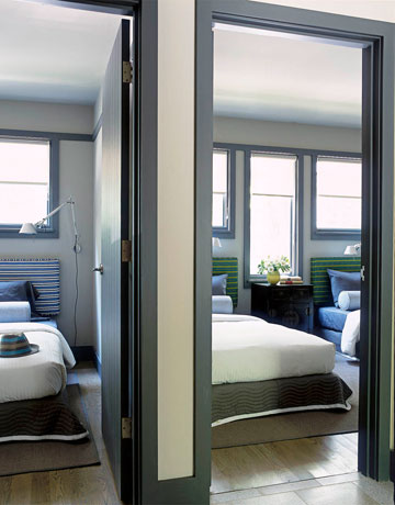Architectural terrorism parent child adjoining bedrooms for Adjoining wall